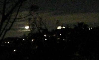 Griffith Observatory and Moon
